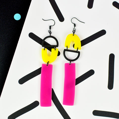 Mismatch Statement Earrings