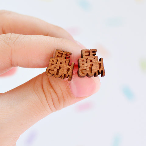 Ee Bah Gum Yorkshire Stud Earrings