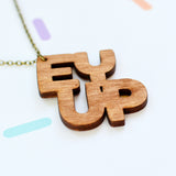 Ey Up Yorkshire Necklace | Handmade Jewellery - Onetenzeroseven - 1