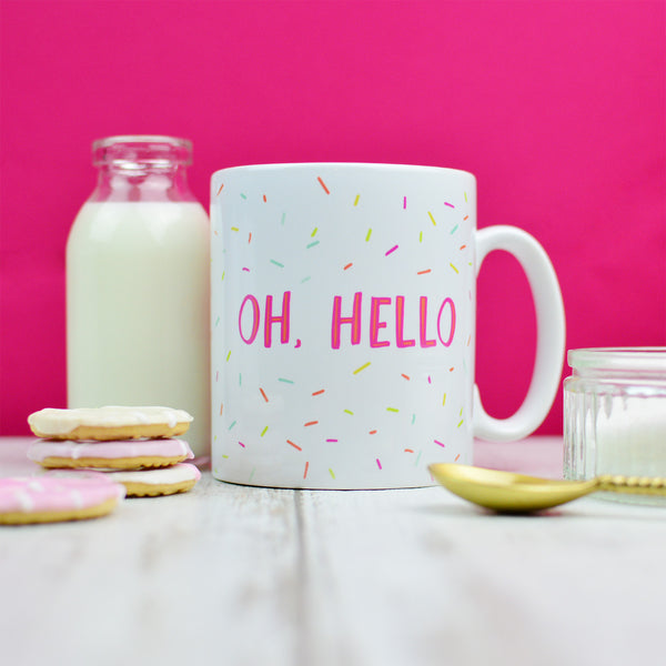 Colourful Mug Gift For Her | Oh Hello Fun Housewarming Gift | Homewares