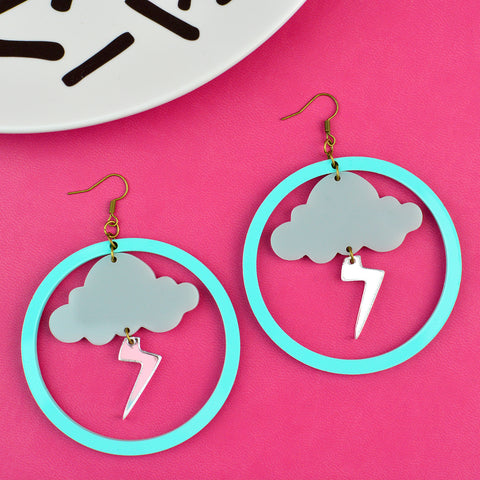 Storm Weather Statement Earrings