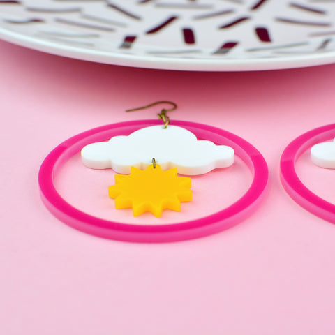 Sunshine Weather Statement Earrings