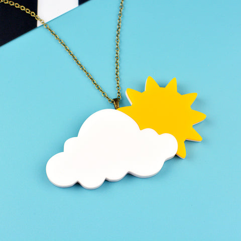 Sunshine Weather Necklace