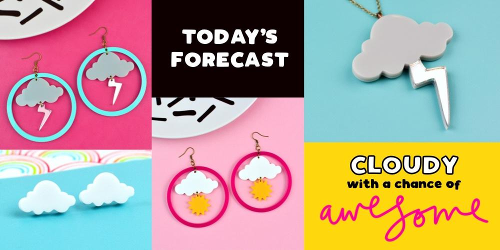 Weather Jewellery Collection Storm Sunshine