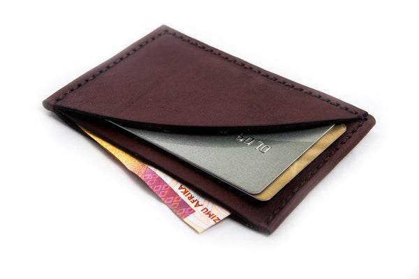 Compact Wallet / Dark-Brown