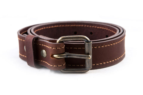 Classic Belt / Dark-Brown