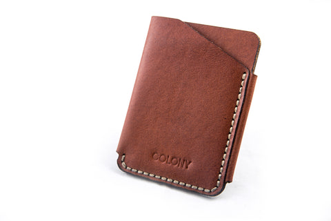 Slide Wallet / Tan