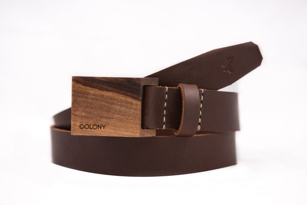 Hickory Belt / Dark-Brown