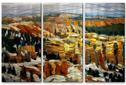 Bryce Canyon - Metal Wall Art Decor - Brian Simons