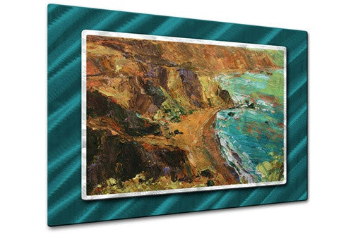 California Coast III - Metal Wall Art Decor - Brian Simons