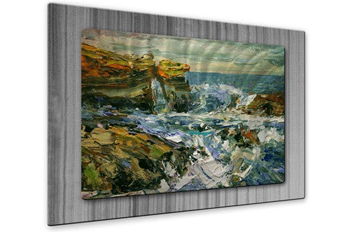 California Coast II - Metal Wall Art Decor - Brian Simons