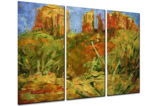 Cathedral Rock - Metal Wall Art Decor - Brian Simons