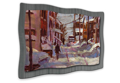 Charlotte Town II - Metal Wall Art Decor - Brian Simons