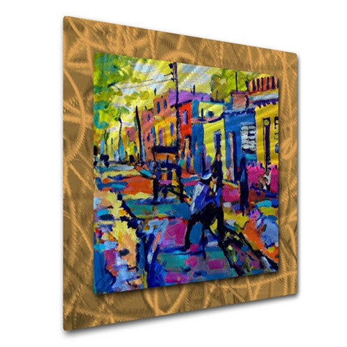 Cuban Village - Metal Wall Art Decor - Brian Simons