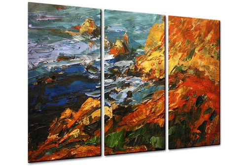 California Coast - Metal Wall Art Decor - Brian Simons