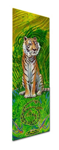 Tiger - Metal Wall Art Decor - Nancy Jean Busse