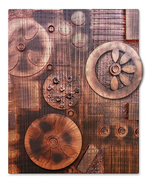 Copperline Series 1 - Metal Wall Art Decor - Skye Taylor