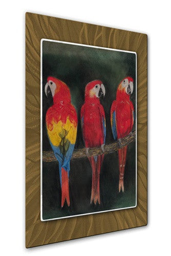 Tres Amigos - Metal Wall Art Decor - Patricia Ackor
