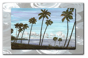 Cozumel Palms - Metal Wall Art Decor - Keith Wilke