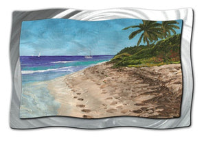 BVI Morning - Metal Wall Art Decor - Keith Wilke