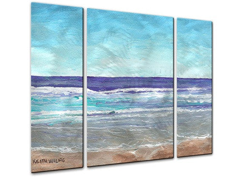 Bright Surf - Metal Wall Art Decor - Keith Wilke
