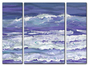 Blue Surf - Metal Wall Art Decor - Keith Wilke