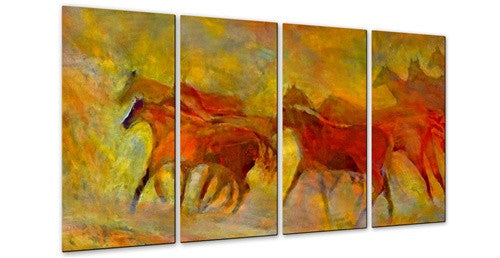 Running Wild - Metal Wall Art Decor - Kip Decker