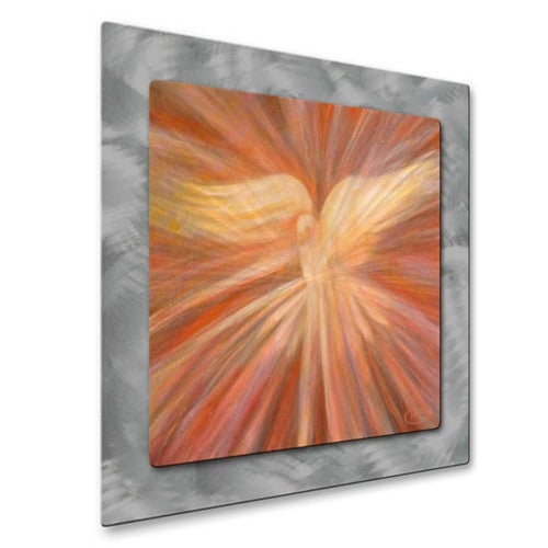 Holy Spirit Appearing as a Dove - Metal Wall Art Decor - Kip Decker