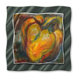 Orange Pepper - Metal Wall Art Decor - Jennifer Lycke