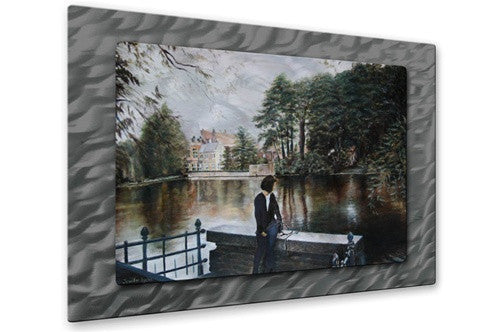 Belgian Reflections - Metal Wall Art Decor - Jennifer Lycke