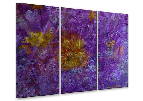 Colorful Garden - Metal Wall Art Decor - Lorenzo Roberts