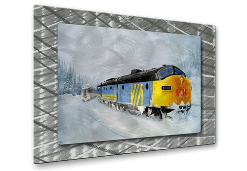 Passing Trains - Metal Wall Art Decor - Glen Frear