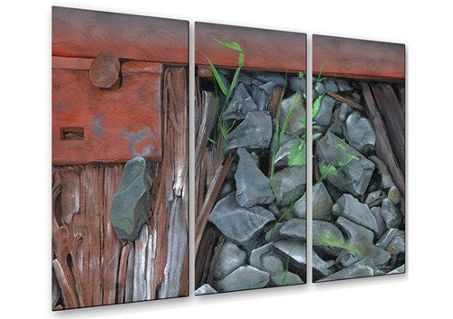 Down By the Tracks - Metal Wall Art Decor - Glen Frear