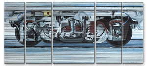 Snowtruck - Metal Wall Art Decor - Glen Frear