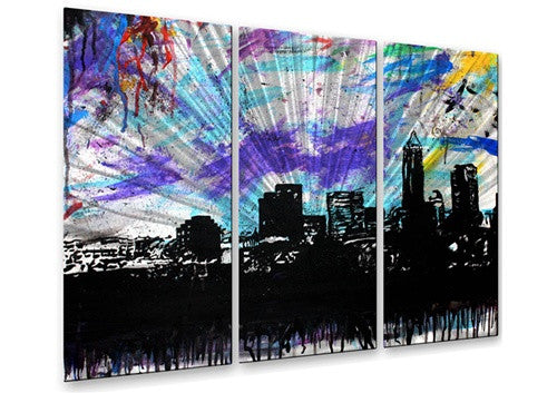 Cleveland 1 - Metal Wall Art Decor - Michael Grubb