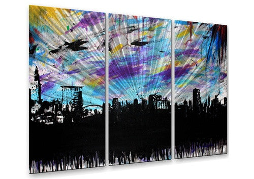 Cleveland 2 - Metal Wall Art Decor - Michael Grubb