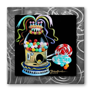 Gumball - Metal Wall Art Decor - Shelley Overton
