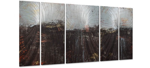 Lithosphere 49 - Metal Wall Art Decor - Hilary Winfield