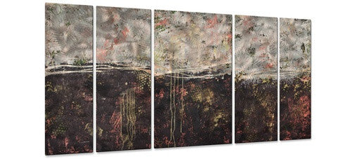 Lithosphere 51 - Metal Wall Art Decor - Hilary Winfield