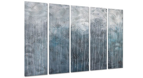 Lithosphere 48 - Metal Wall Art Decor - Hilary Winfield