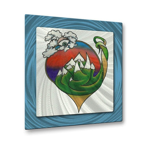 Eye of the MT Sky - Metal Wall Art Decor - Steven Weber