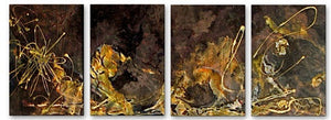 Golden Touch - Metal Wall Art Decor - Angelika Mehrens