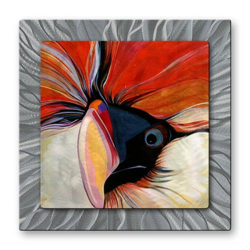 Adam - Metal Wall Art Decor - Marlene Burns