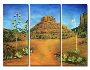 Sedona Bell Rock - Metal Wall Art Decor - Jerome Stumphauzer