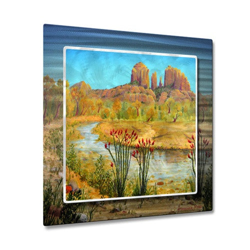 Sedone Arizona - Metal Wall Art Decor - Jerome Stumphauzer