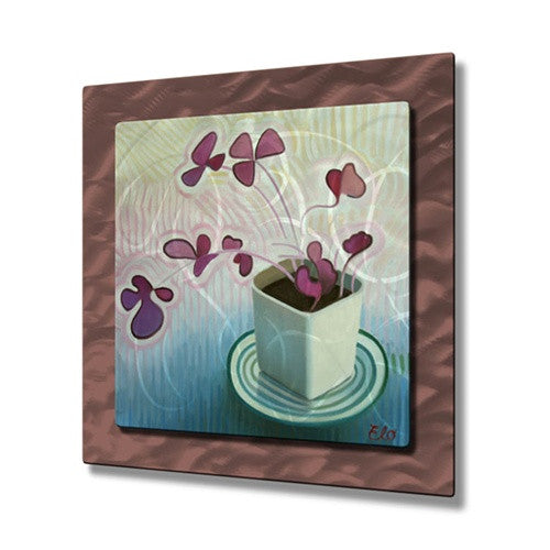 Oxalis - Metal Wall Art Decor - Elohim Sanchez