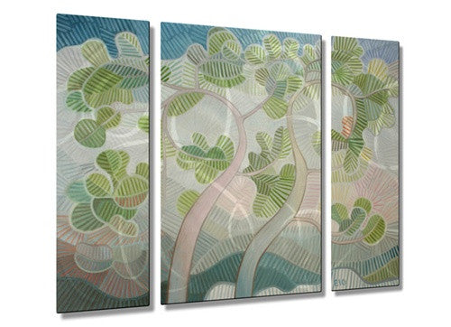 Deuxarbres - Contemporary Metal Wall Hanging - Elohim Sanchez