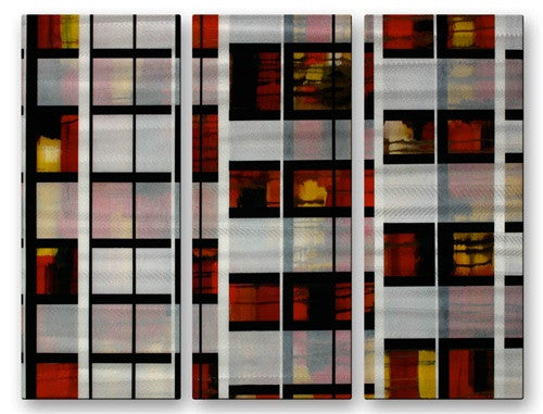Architecture I - Metal Wall Art Decor - Aimee Dieterle