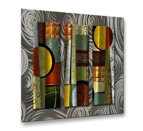 Aerial View II - Metal Wall Art Decor - Aimee Dieterle