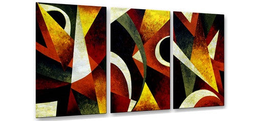 Linear Perspective Contemporary Modern Metal Wall Art By Aimee Dieterle